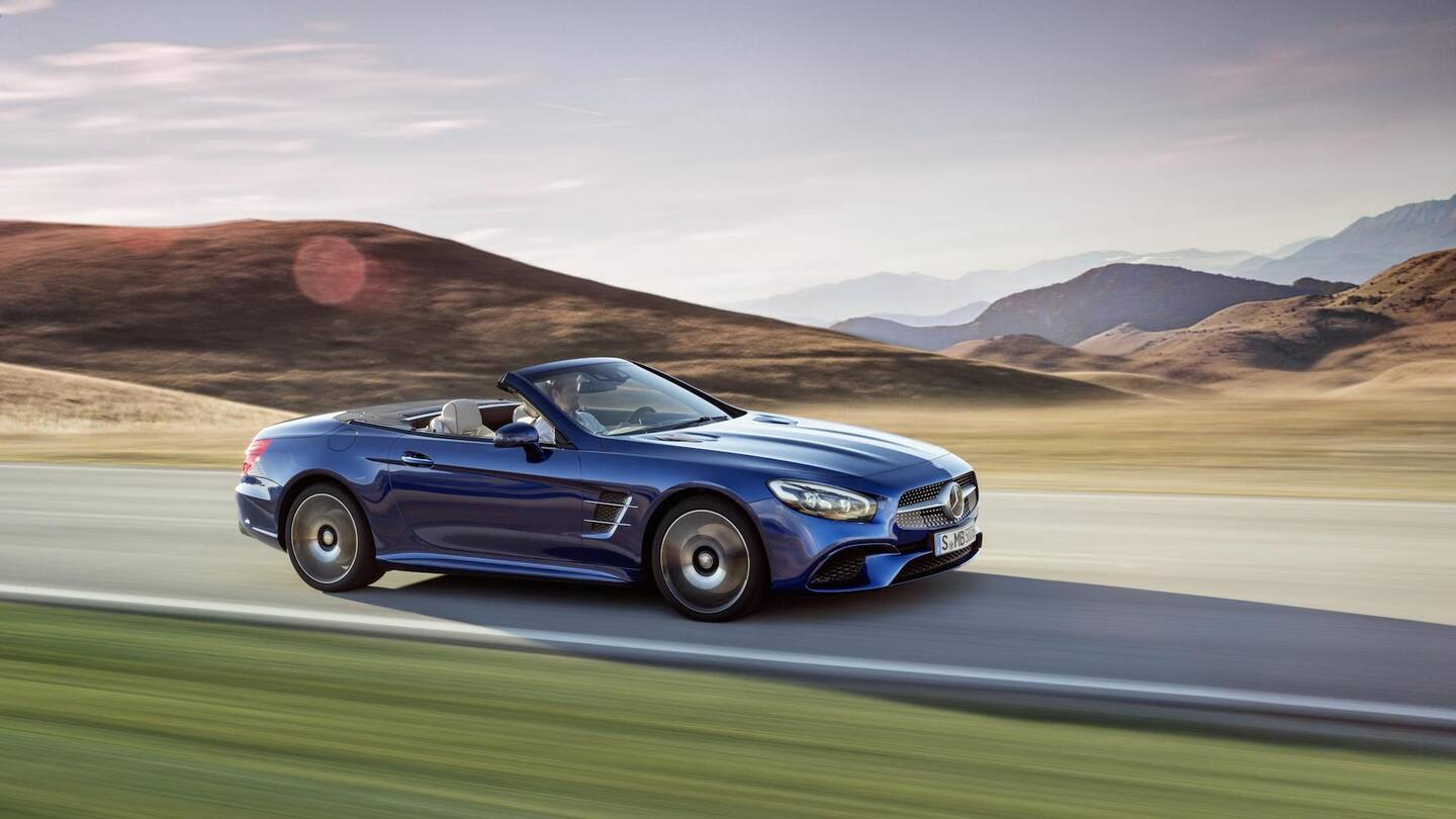 Can Mercedes Benz Save The Sl Roadster The Drive