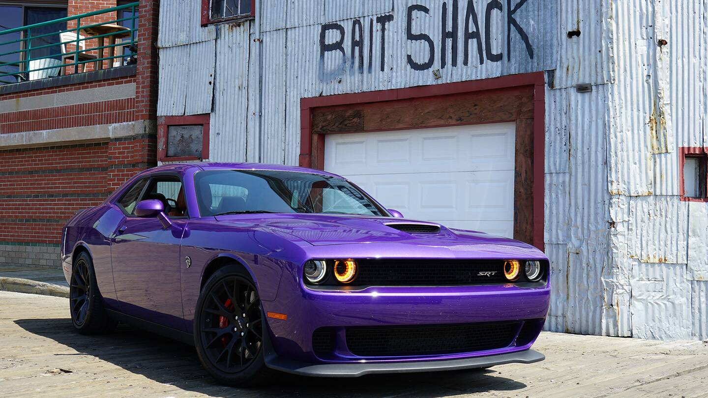 Dodge Challenger Purple Wallpapers Colorful