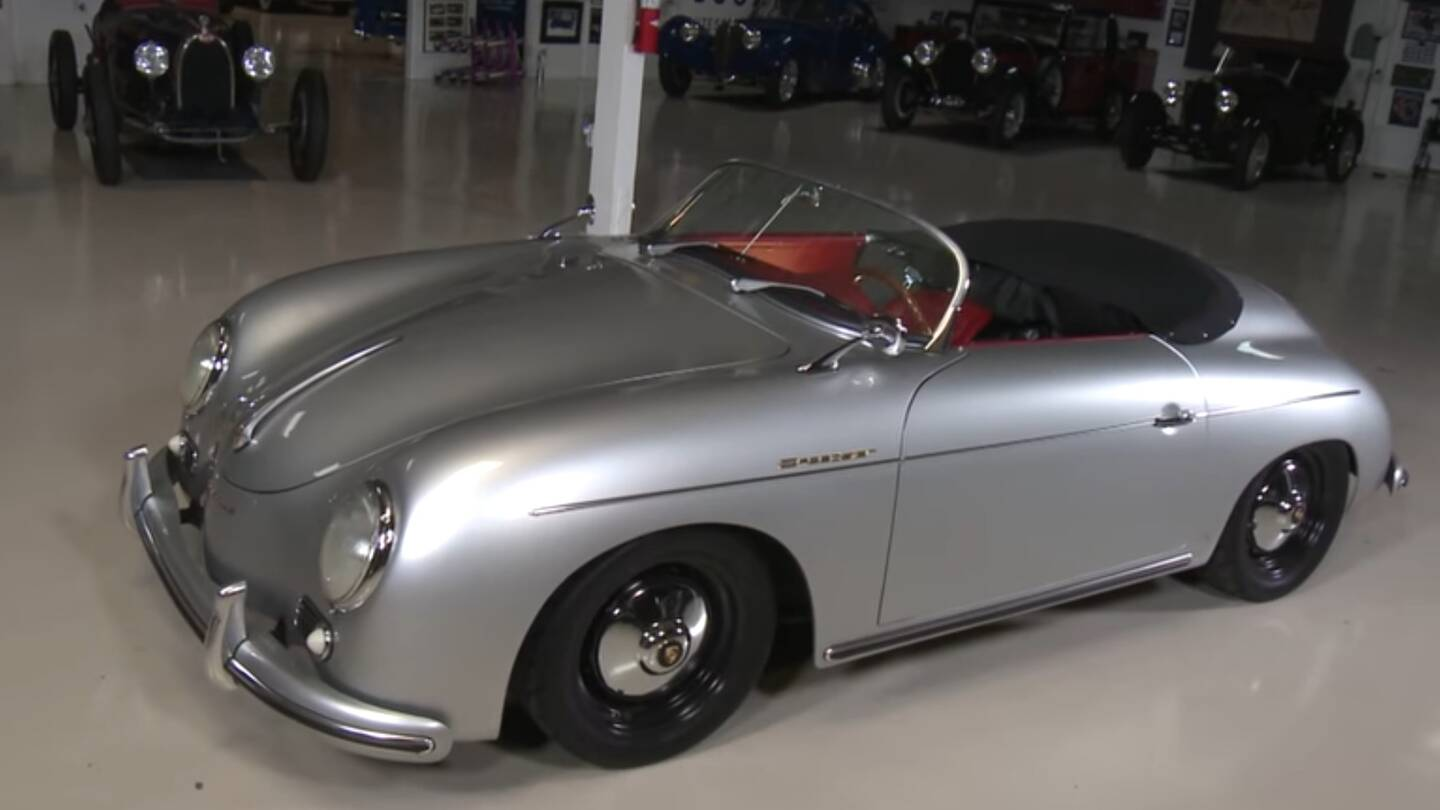 Jay Leno Drives A 356 Speedster Replica That Is Possibly Better Than The  Real Thing