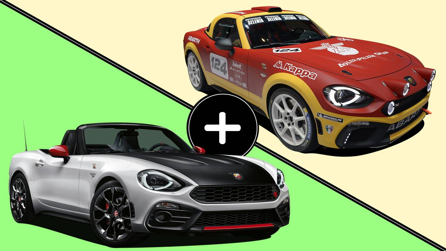 Fiat Drops Abarth 124 Spider And Rally Car The Drive