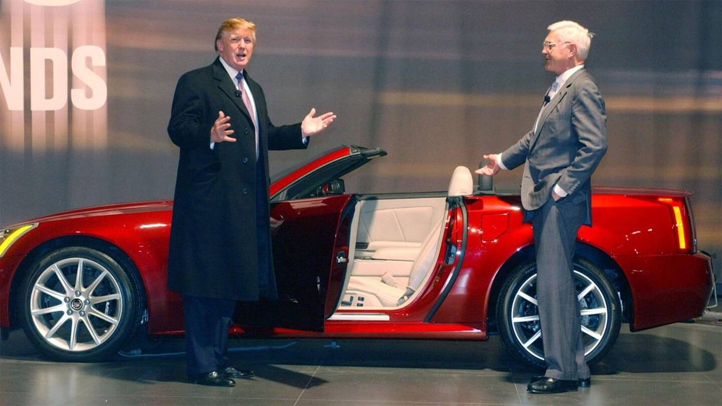 president donald trump will roll up to the white house in a brand new cadillac the drive. Black Bedroom Furniture Sets. Home Design Ideas