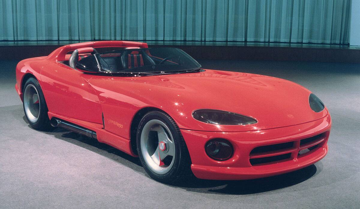 Detroit auto show throwback the dodge viper the drive twenty seven years ago the original viper concept stunned the north american international auto show publicscrutiny Choice Image