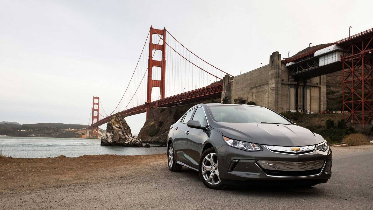 Chasing A Volkswagen Gti In The New Chevrolet Volt