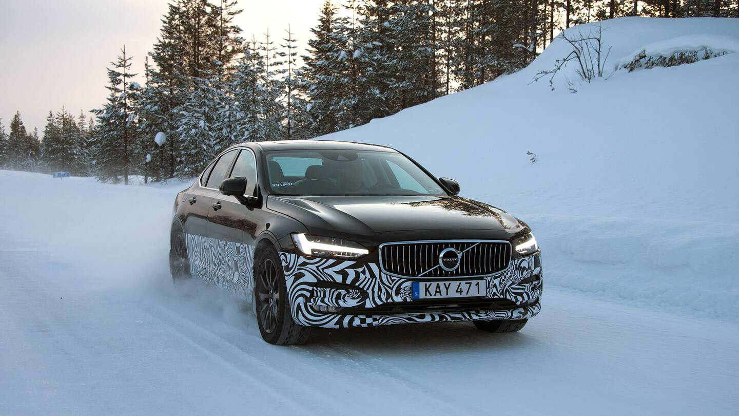 Driving the Volvo S90, Sweden\'s New BMW 5-Series Fighter - The Drive