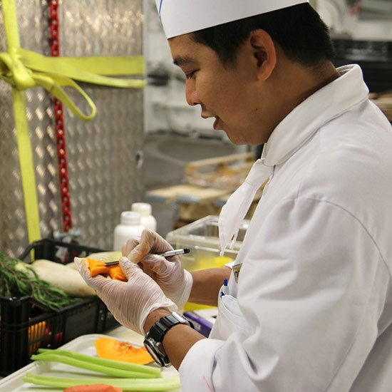The Bizarre World Of Cruise Ship Kitchens Food Wine - Cruise ship kitchen