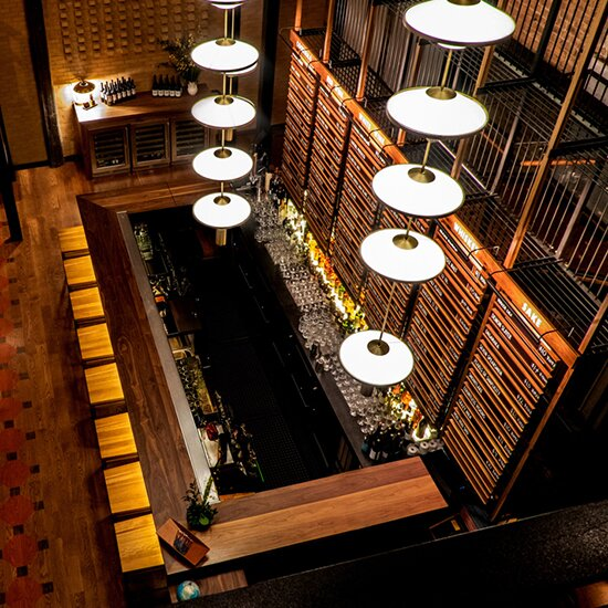 The Breathtaking Japanese Design of One New Chicago Bar   Food & Wine