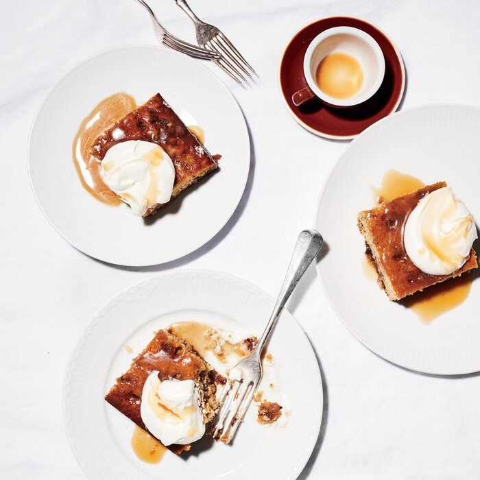 Banana sticky toffee pudding recipe laura rege food wine banana sticky toffee pudding forumfinder Image collections
