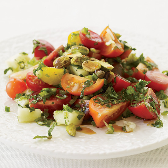 Turkish Tomato Salad with Fresh Herbs