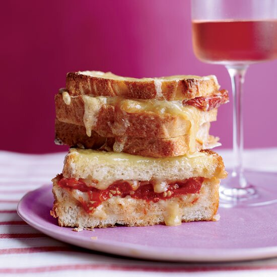 Dry Rosé: For rich, cheesy dishes