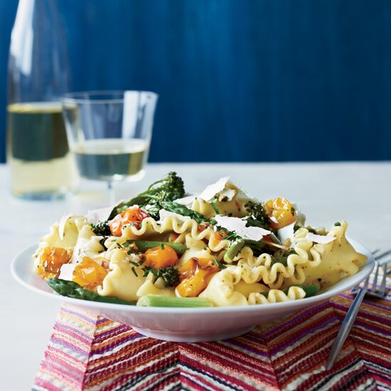 Spring pastas food wine spring pasta with blistered cherry tomatoes forumfinder Images