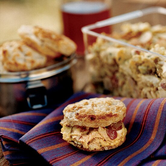 Picnic recipes top picnic food ideas food wine curried chicken salad with garam masala biscuits forumfinder Images