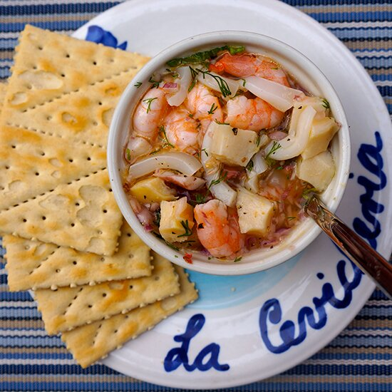 Cartagena in 10 plates food wine fresh ceviche at la cevicheria forumfinder Image collections