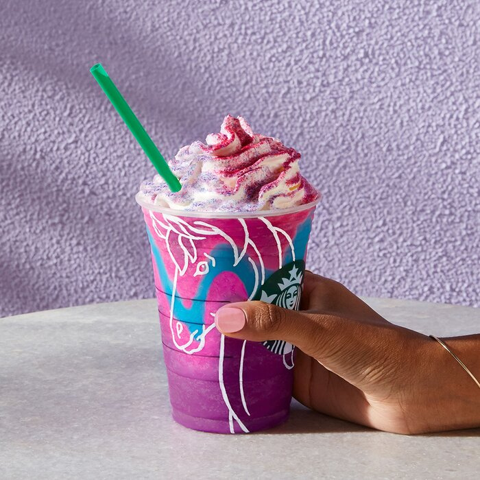 Image result for unicorn frap