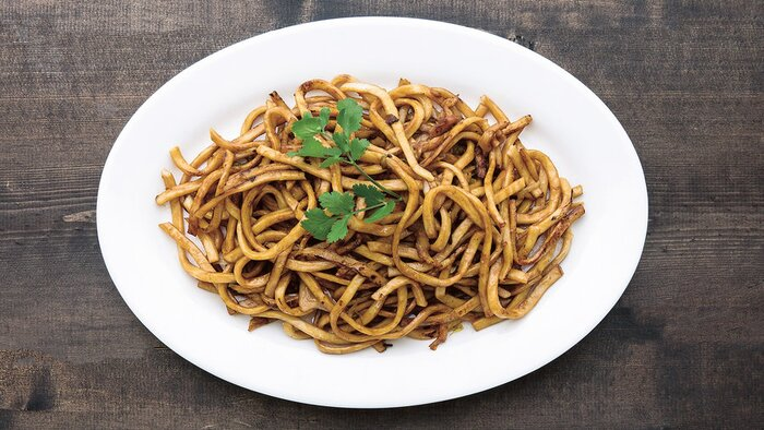 stir fried shanghai noodles - Traditional Chinese New Year Food