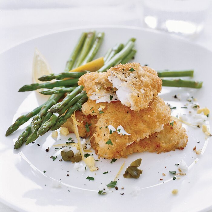 Crispy Monkfish With Capers Recipe