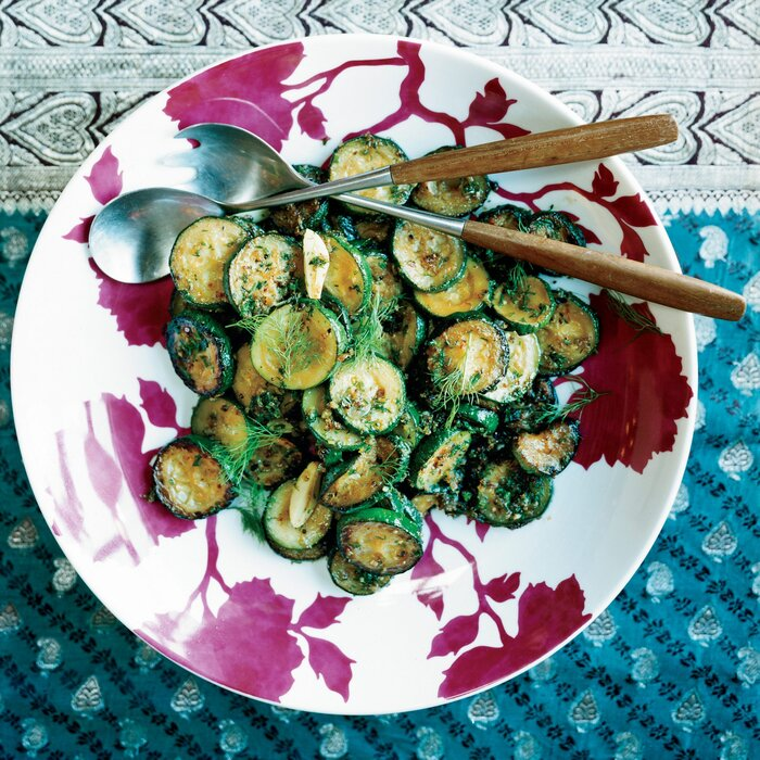 Sauted zucchini with ginger and dill recipe padma lakshmi food 200706 r zucchini dillg forumfinder Images
