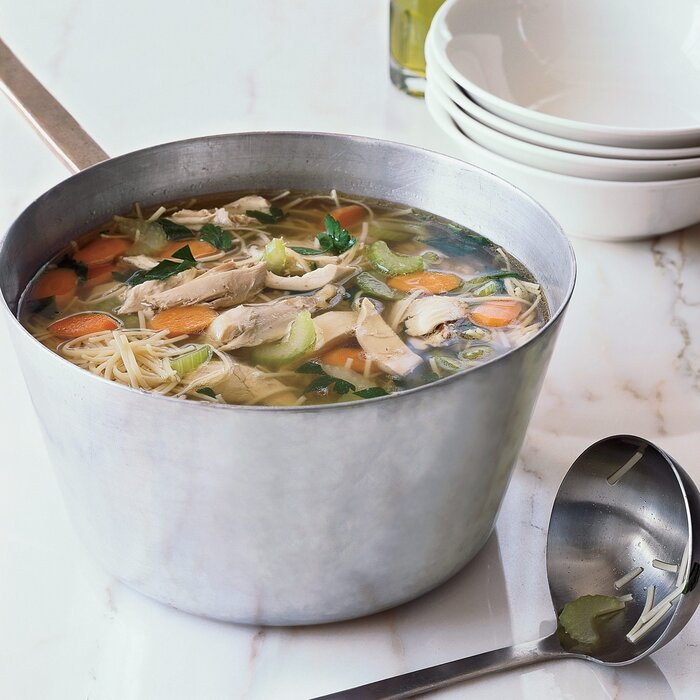 Classic chicken noodle soup recipe grace parisi food wine pmarch 22 classic chicken noodle forumfinder Image collections