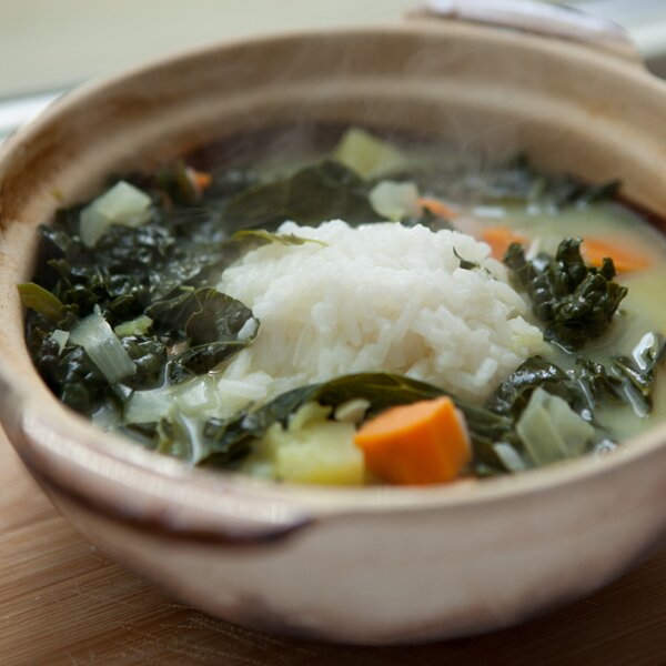 Island kale and sweet potato soup recipe quick from scratch original kale soup qfs rg forumfinder Choice Image