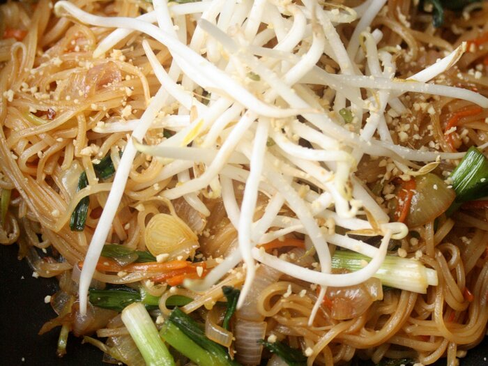 Vegan pad thai recipe phoebe lapine food wine vegan pad thai forumfinder Image collections