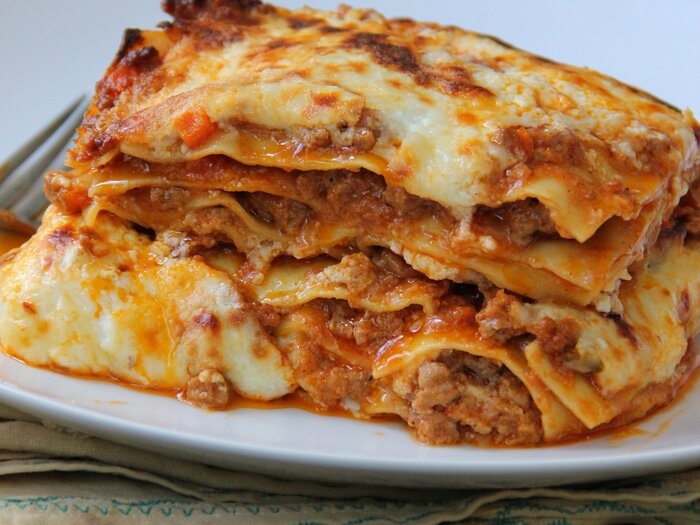 Pork lasagna recipe ian knauer food wine pork lasagna forumfinder Image collections