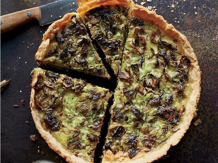 Roasted brussels sprout and gruyre quiche recipe billy allin roasted brussels sprout and gruyre quiche recipe billy allin food wine forumfinder Image collections