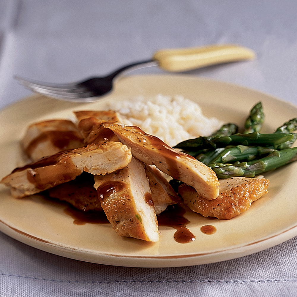 Chinese-Style Glazed Chicken Breasts