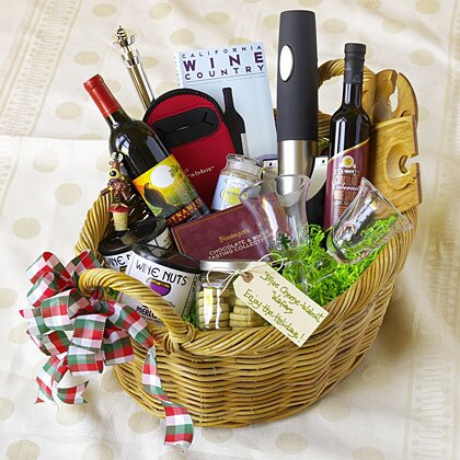 The ultimate guide to holiday food gift basket ideas myrecipes wine lovers basket negle Images