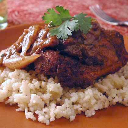 Quick and easy moroccan chicken recipes myrecipes moroccan chicken with almond couscous forumfinder Image collections