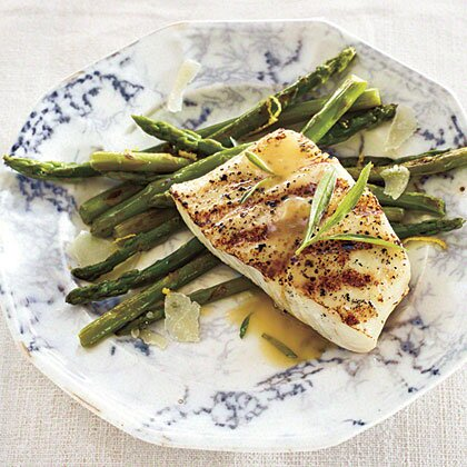 grilled halibut with tarragon beurre blanc - Bur Blanc Recipe
