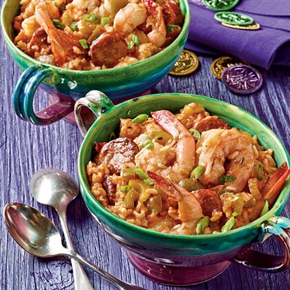 Fast and easy new orleans style dishes myrecipes shrimp and sausage jambalaya forumfinder Image collections