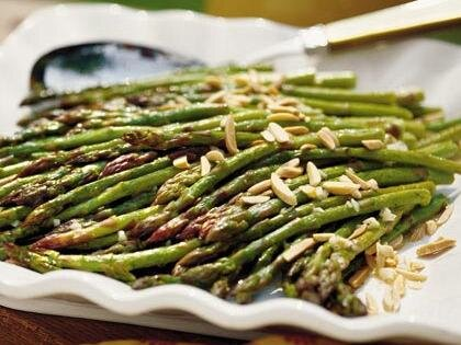 Oven roasted asparagus recipe myrecipes oven roasted asparagus ccuart Gallery