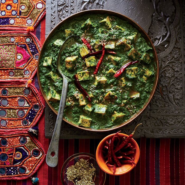 Vegetarian meals under 300 calories myrecipes tofu saag forumfinder Images