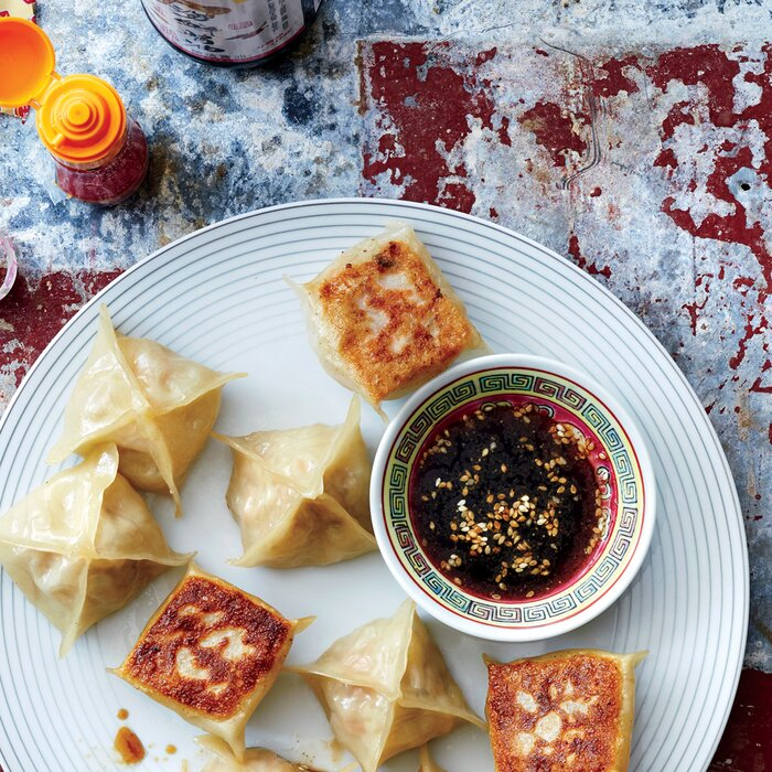 POT STICKERS. I absolutely ...