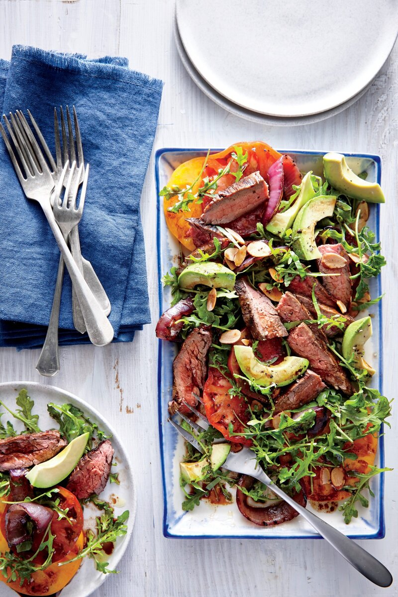 California Steak Salad