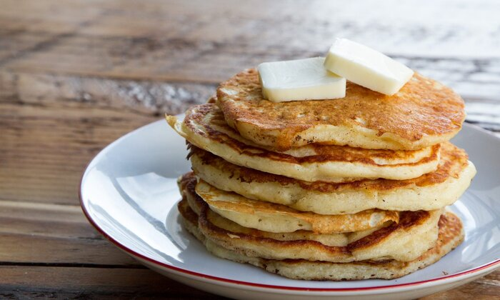 Make extra golden brown pancakes with this secret ingredient recipe ec make extra golden brown pancakes with this secret ingredient ccuart Images