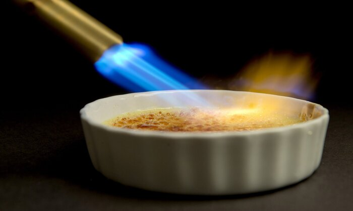 Creme Brulee On Fire