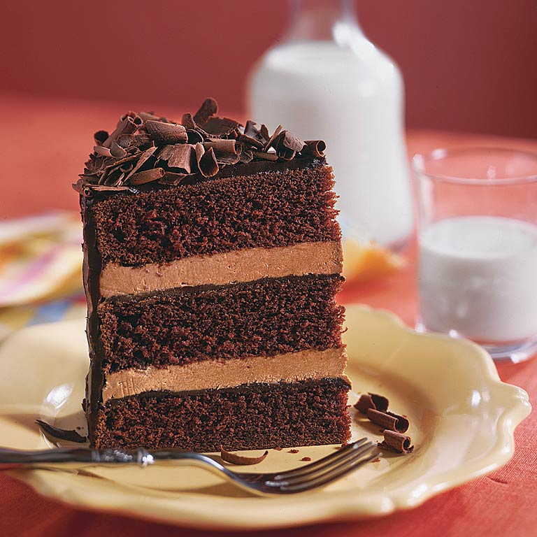 chocolate cake recipes with filling