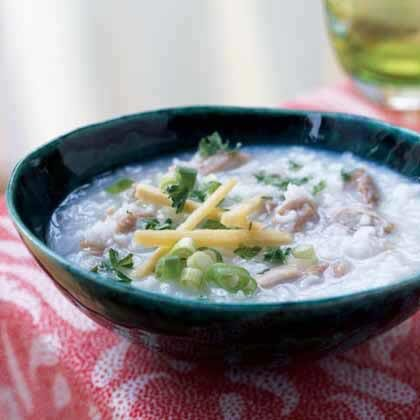Rice congee soup jook recipe myrecipes rice congee soup jook forumfinder Choice Image