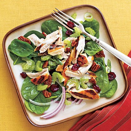 Easy grilled chicken salad recipe myrecipes easy grilled chicken salad forumfinder Images