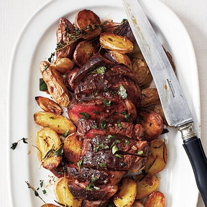 Bistro steak with red wine sauce recipe myrecipes bistro steak with red wine sauce forumfinder Image collections
