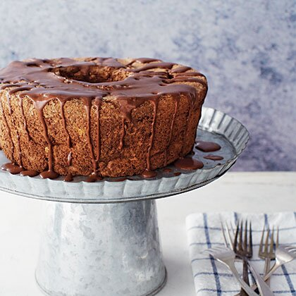 Chocolate almond angel food cake recipe myrecipes chocolate almond angel food cake forumfinder Choice Image