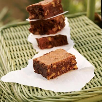 Perfect picnic brownies recipe myrecipes perfect picnic brownies malvernweather Images