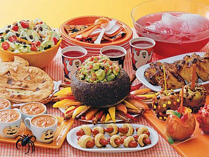 Kids' Halloween Dinner Menu | MyRecipes