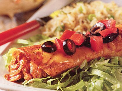 Chicken enchiladas recipe myrecipes chicken enchiladas forumfinder Choice Image