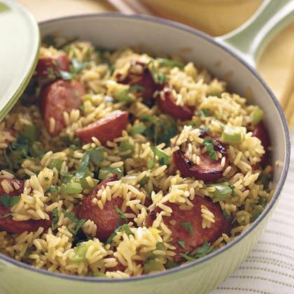 Skillet sausage n rice recipe myrecipes skillet sausage n rice forumfinder Images