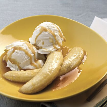 Tequila flambed bananas with coconut ice cream recipe myrecipes tequila flambed bananas with coconut ice cream ccuart Images