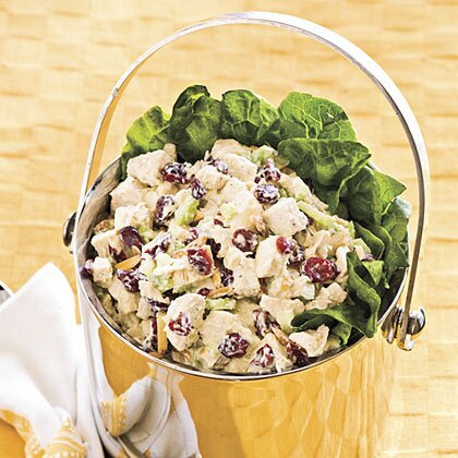 Cranberry almond chicken salad recipe myrecipes cranberry almond chicken salad forumfinder Images