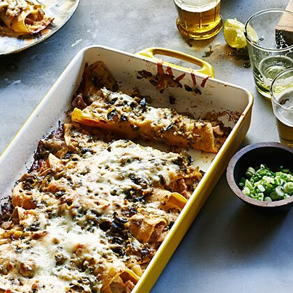 Green chile chicken enchiladas recipe myrecipes green chile chicken enchiladas forumfinder Choice Image