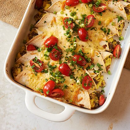 Breakfast enchiladas recipe myrecipes breakfast enchiladas forumfinder Images