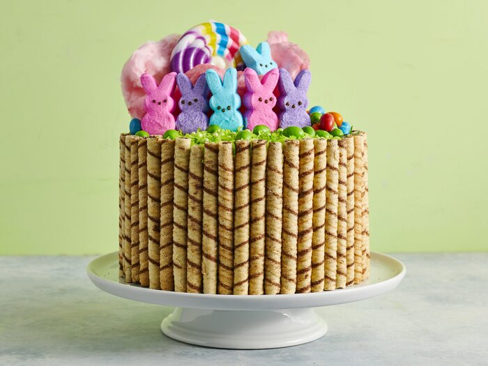 Easter basket cake recipe myrecipes easter basket cake negle Gallery
